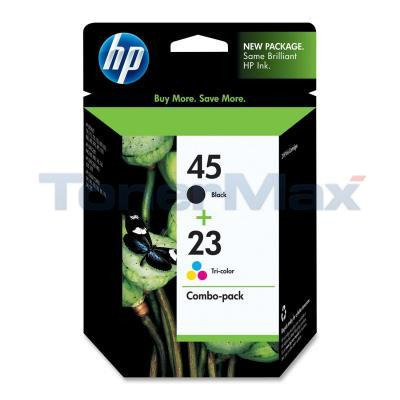 HP NO 45 23 INK CART BLACK/COLOR COMBO PACK